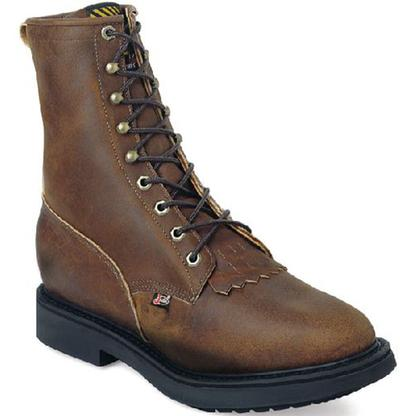 Justin Briar Pitstop Work Boots