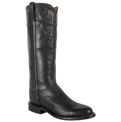 Lucchese Classic Women's American Contemporary Black Riding Boots