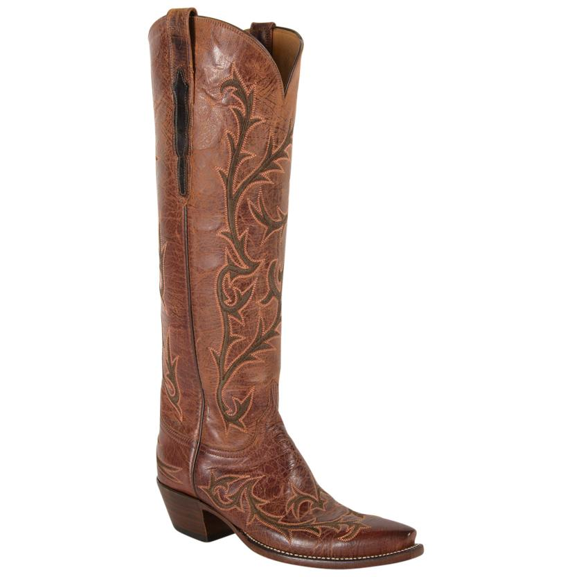 Lucchese Classic Women's Peanut Brittle Mad Dog Goat Boots