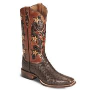 Tony Lama Signature Full Quill Ostrich Cowboy Boot