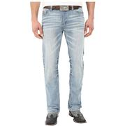 Cinch Western Denim Jeans Mens Bootcut Ian Slim Light Wash