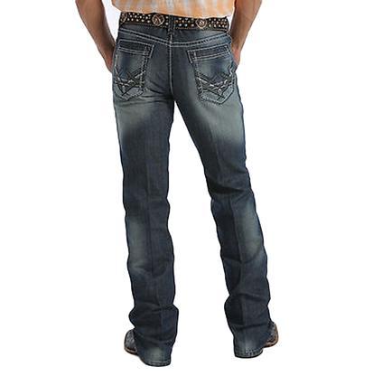 Cinch Mens Western Denim Boot Cut Ian Light Jeans