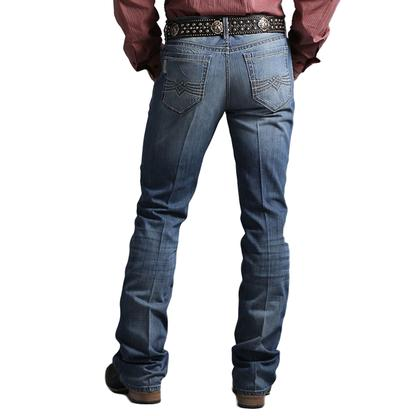 Cinch Mens Indigo Medium Stonewash Jeans