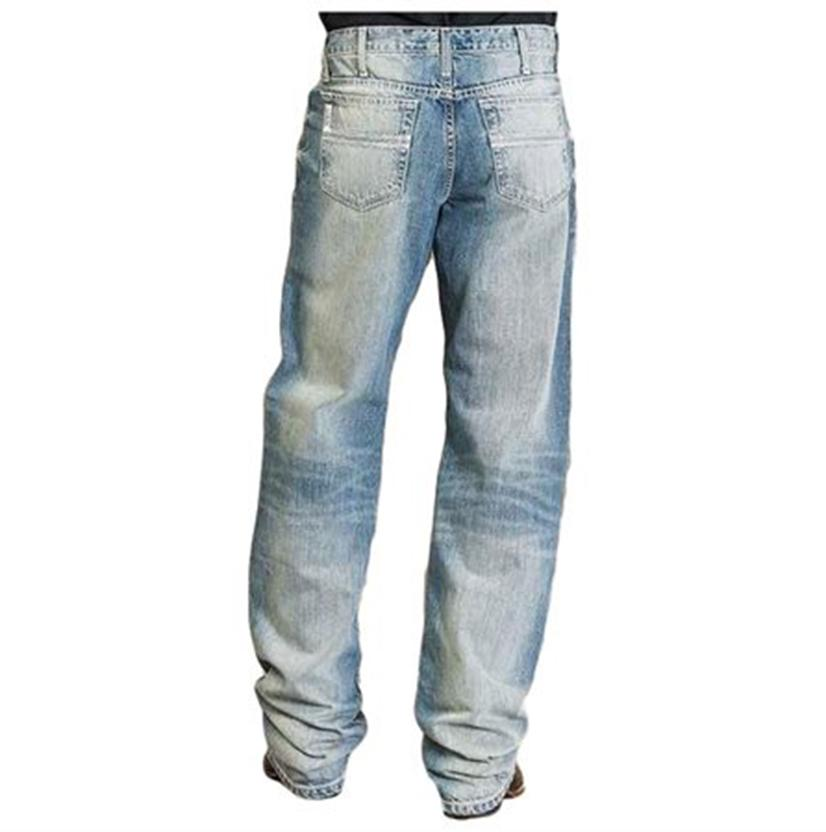 Cinch Mens White Label Light Stone Wash Jeans