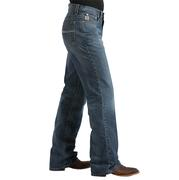Cinch Men's Dally Relaxed Mid Rise Boot Cut Western Denim Blue Jeans