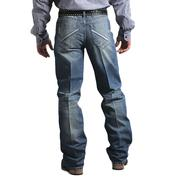Cinch Men's Grant Relaxed Fit Boot Cut Western Denim Blue Jeans