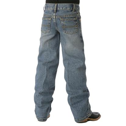 Cinch Boys White Label Traditional Rise Regular Fit Jean - Light Stonewash