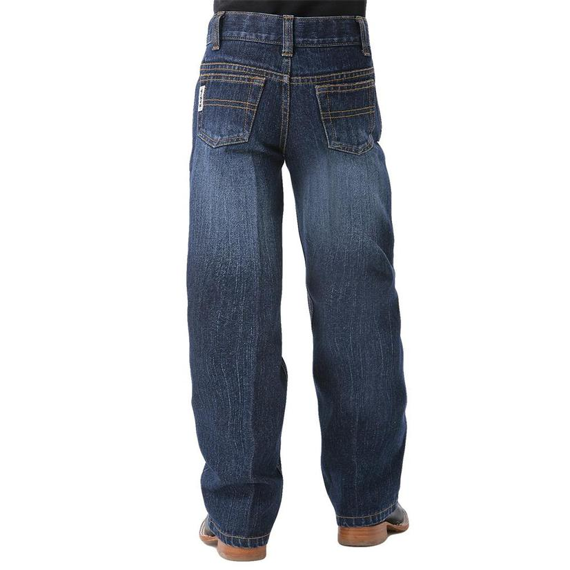 Cinch Boys White Label Original Fit Jean - Dark Stonewash