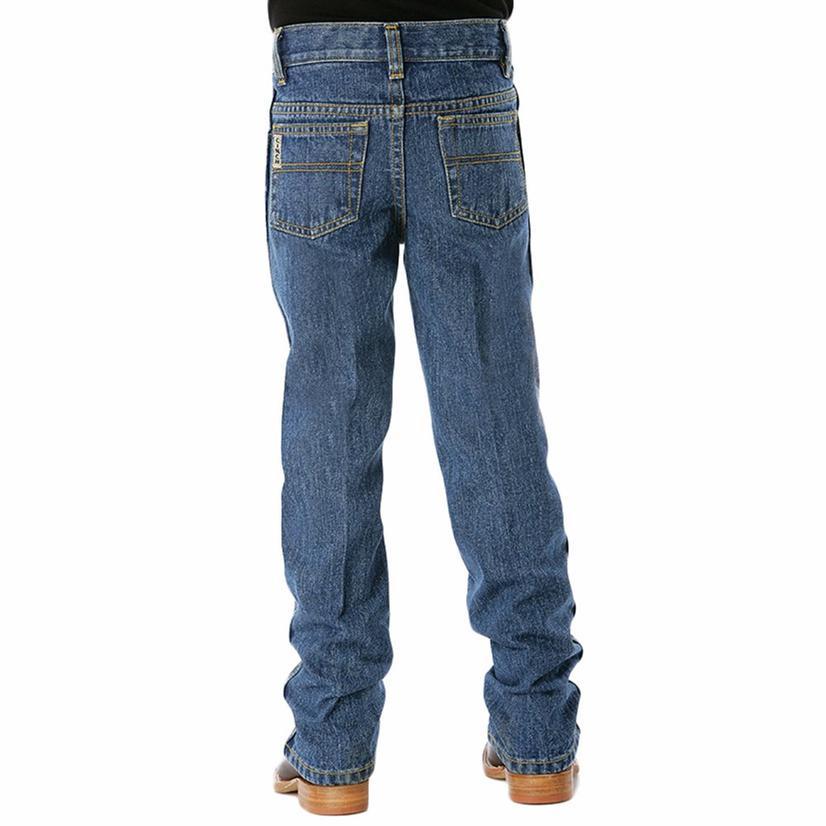 Cinch Boy's Original Low Rise Extra Long Inseam Jeans - Medium Wash