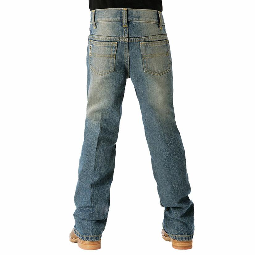 Cinch Boys Original Low Rise Slim Fit Jean - Medium Wash
