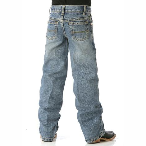 Cinch Boys White Label Traditional Rise Regular Fit Jeans - Medium Wash