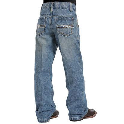 Cinch Boy's Tanner Slim Fit Jean - Medium Wash