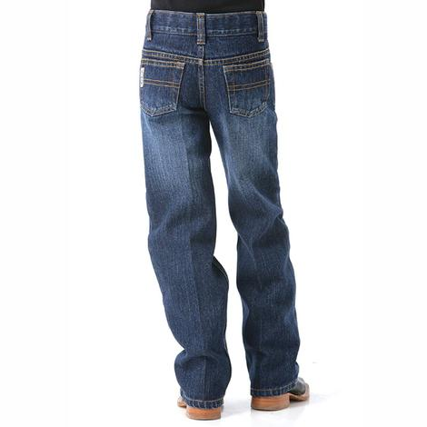 Cinch Boys Toddler Traditional Rise Jean - Dark Stonewash