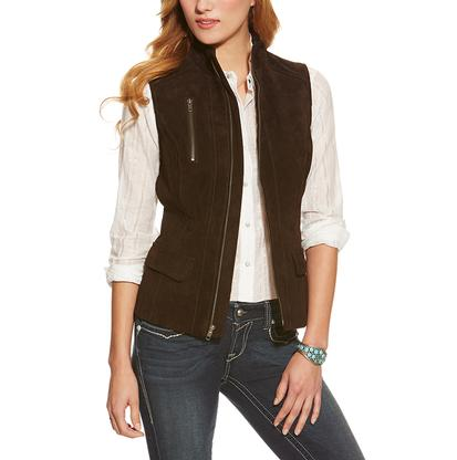 Ariat Womens Valley Suede Vest