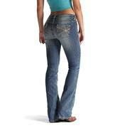 Ariat Womens Sweetpea Turquoise Chain Boot Cut Jeans