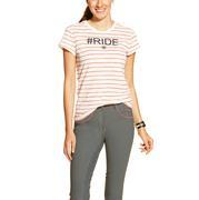 Ariat Women's English Short Sleeve Flame Ride Shirt