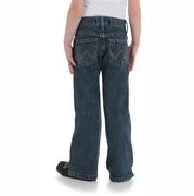 Wrangler Girl's Toddler Cash Mid Rise Ultimate Riding Jean - Medium Wash