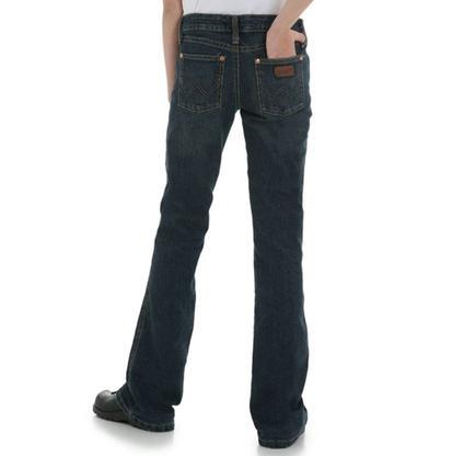 Wrangler Girls Modern Flared Boot Cut Jeans - Sunshine on a Cloudy Day