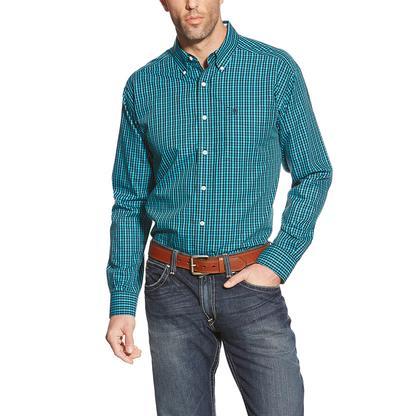 Ariat Mens Wrinkle Free Zaleman Shirt