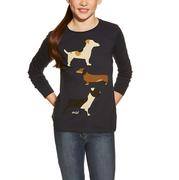 Ariat Kennel Club Dog T-Shirt for Girls