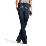 Ariat Womens Ruby Boomerang Knit Starlight Jeans