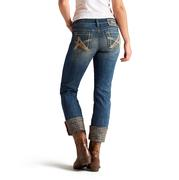 Ariat Womens Boyfriend Snake Oil Cottonwood Jeans