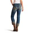 Ariat Women's Boyfriend Snake Oil Cottonwood Jeans