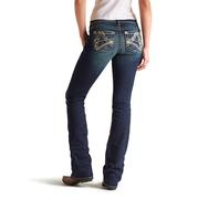 Ariat Womens Ruby Leather Dot Loved Jeans