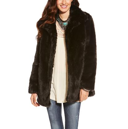 Ariat Womens Lux Fur Jacket