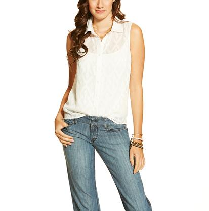 Ariat Womens Jacquard Western Shirt