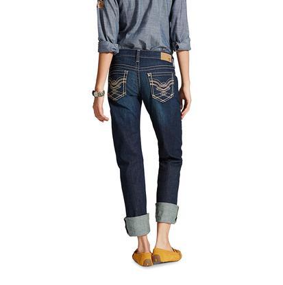 Ariat Womens Boyfriend Crisscross Jeans