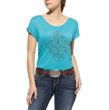 Ariat Women's Fleur Cross Top