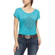 Ariat Fleur Cross Top