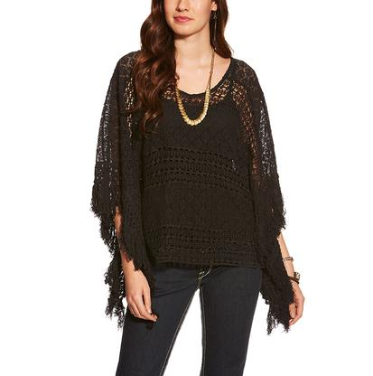 Ariat Womens Lace Poncho