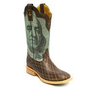 Tin Haul Money To Burn Hundred Sole Men's Boot