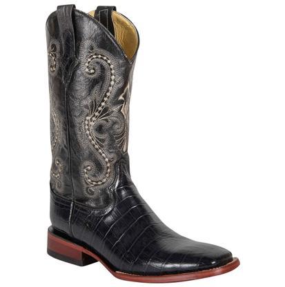 Ferrini Black Alligator Boots