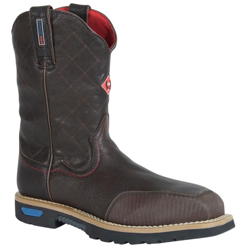 Cinch Mens Wrx Ct Fr Safety Toe Brown Work Boots