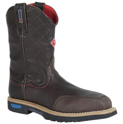 Cinch WRX CT FR Safety Toe Brown Work Boots