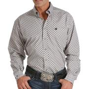 Cinch Men's Print Button Down Western Shirt