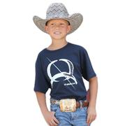 Cinch Boy's Navy Jersey Tee