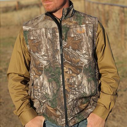 Cinch Mens Western Bonded Camo Vest