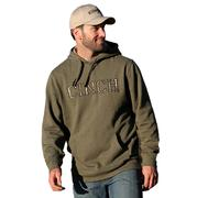 Cinch Men's Olive Realtree Max 1 Logo Hoodie