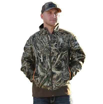 Cinch Mens Western Outdoor Fleece Camo Jacket