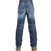 Cinch Western Kids Sawyer Slim Loose Medium Wash Jeans