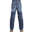 Cinch Western Kids Sawyer Slim Loose Med Wash Jeans