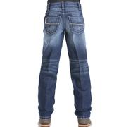 Cinch Boys' Sawyer Loose Fit Denim Medium Wash Jeans
