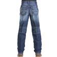Cinch Boys ' Sawyer Loose Fit Denim Medium Wash Jeans