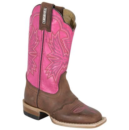 Cinch Youth Cowboy Saddle Vamp Boots