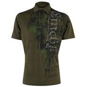 Cinch Mens Green Cotton Polo Shirt