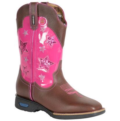 Cinch Kids LED Work Boots
